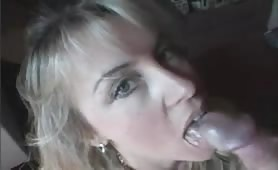 Milf Wife swallows all