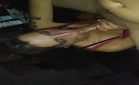 Big Cock Deepthroating my Man and Massage his Prostate