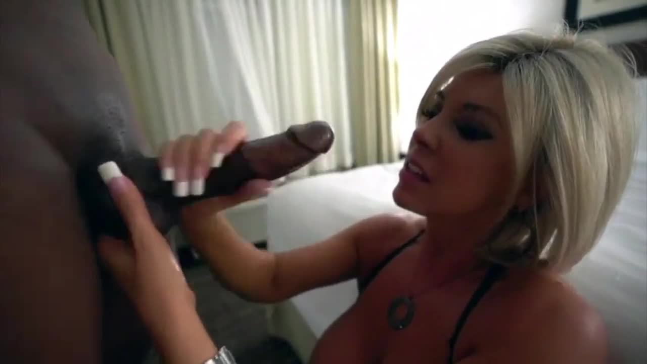 Amateur Blonde Black Bbc