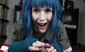 Ramona Flowers Rides your Cock