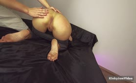 Spanking each other - Fetish Ass Slap - Boy and Girl