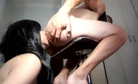 Cleo Devours Ceasar s Sweet Ass with Deep Tongue Rimming Again, and again