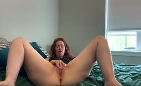 Fuck, I Love being a Slut for you Guys   Real Amateur Porn  RedHead MILF