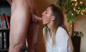 Wife comes Home on Lunch Break to get Fucked