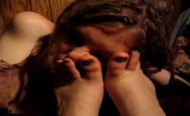 Homemade Lesbian Foot Smelling