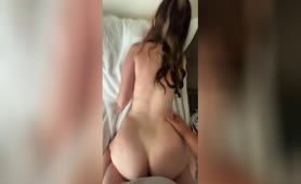 Thick White Girl Gets Fucked from behind