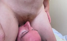 Drinking Piss and Facesitting - Grinding from a Hairy