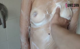 STEP SISTER Gets WASHED with PISS and SUCKS ME