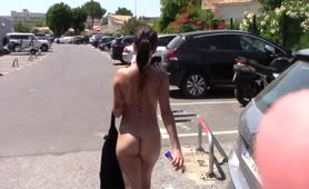 WALKING NAKED IN THE STREET
