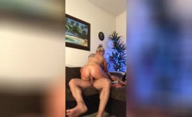 Fit Couple Butt Plug, Anal with Cum Shot, she Eats his Cum