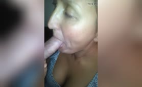 Nice Blowjob With Cumshot In Her Mouth