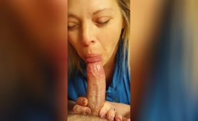 She Eats Every Last Drop Of Cum