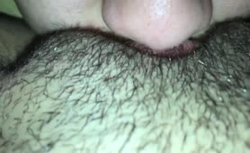 SEXY GREEN EYED LESBIAN EATS HER MOANING GIRLFRIENDS WET PUSSY