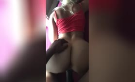 PAWG taking it from the back