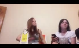 Periscope Russians Show Boobs