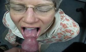Cum eating done right - the early years